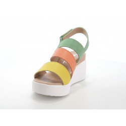 FitFlop ™ DUE ™ LEATHER ALL BLACK